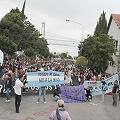 Multitudinaria manifestación en Rawson por el No a la Mina