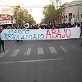 """El """"sí a la mina"""" acampa frente a la Legislatura de Chubut"""