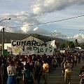 Abrumadora manifestación contra atropellos del poder político y económico