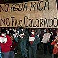 Presetan recurso judicial contra estado catamarqueño y Minera Agua Rica
