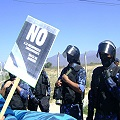 Andalgalá militarizada por la dictadura minera