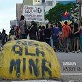 Marcharon contra minería a gran escala en Puerto Madryn