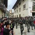 El mantenimiento del orden público francés se exporta a Cajamarca