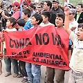 Nueva movilización en Cajamarca ¡Conga nunca mas!