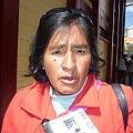 Comunidad de Huaychao en paro por minería