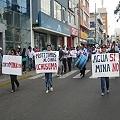 Multitudinaria movilización contra proyecto minero Pucamarca, exigieron consulta popular
