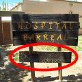 El hospital público auspiciado por la minera