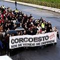 Nutrida manifestación contra la mina de Corcoesto