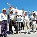 Campesinos e indígenas crean guardias civiles en Chiapas