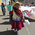 Mujer quechua cuadra a presidente por minería a gran escala