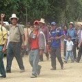 Ronderos suspenden diálogo con minera Barrick