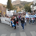 Esquel: 3.650 días de democracia en la calle