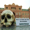 A diez años del conflicto minero Greenpeace saluda al pueblo de Esquel