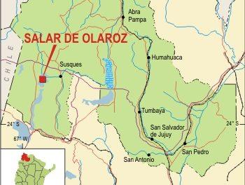 Se construye la primera mina de litio en Argentina