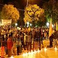 Marcharon en Famatina respaldando a vecinos judicializados