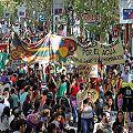Una marcha contundente contra la megaminería