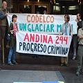 Comunidades movilizadas contra Andina 244 de Codelco