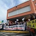 Movilización ciudadana en rechazo a la mina de Corcoesto