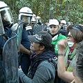 Mujeres arrestadas en protesta contra mina de oro en Calcídia