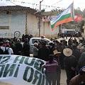Policía reprime protesta contra ministra por muertes de manifestantes contra Conga