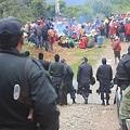 Policía mercenaria de grandes mineras