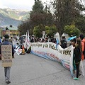En Coyhaique manifestaron su rechazo a dos años de la aprobación de HidroAysén