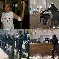 Represión en Famatina, hospitalizados y detenidos