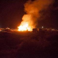 Fuego en pozo de fracking: «está controlado pero no extinguido»