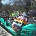 """78 dias de """"el tranquerazo"""": Importante movilización a los tribunales de Metán"""
