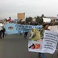 Bloquean carretera hacia Perú y Bolivia en rechazo a proyecto manganeso Los Pumas