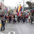 Exitosa marcha ciudadana en Arica