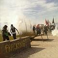 Represión a marcha crítica al fracking y el saqueo