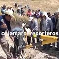 Ronderos retiran primera tranquera en el proyecto Conga