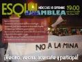 Asamblea de vecinos por la campaña de firmas y la permanencia de la oficina de la minera