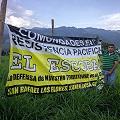 El pico del conflicto minero en San Rafael Las Flores