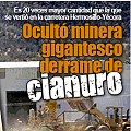 Minera ocultó gigantesco derrame de cianuro