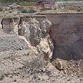 Inspeccionan Minera Sierra Grande por efectos de un derrumbe