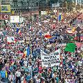Los jóvenes enfrentan al gobierno contra mina de oro en Rumania