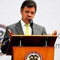 Presidente Santos defendió política minera del gobierno
