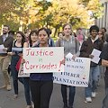 Manifestación en Boston contra explotaciones de Harvard en el Iberá