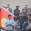 Policía reprime protesta contra mina canadiense en Kirguistán