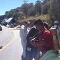 Derrame de 1 tonelada cianuro con destino a mineras en Chihuahua
