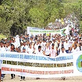 Protesta contra minera B2Gold en Matagalpa