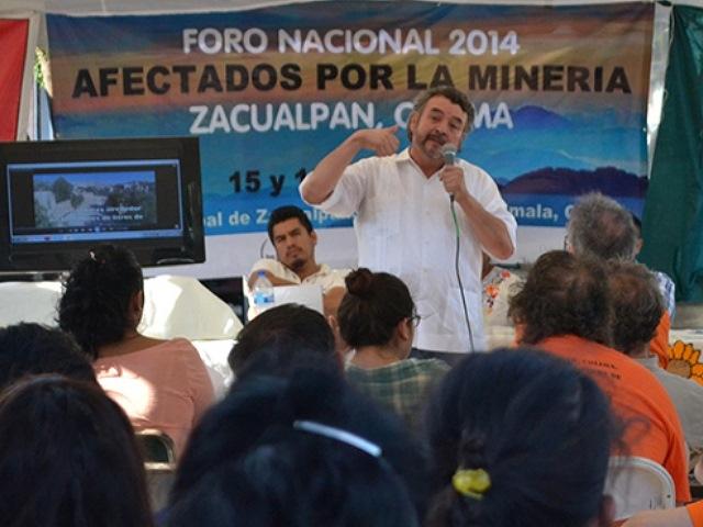 Exigen a presidentes de México, Canadá y EE.UU. no defender intereses de mineras
