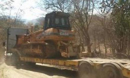 Empresa retira maquinaria en minera en San José del Golfo