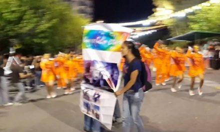 Salvaje represión en la Fiesta Nacional del Sol a manifestantes contra la minería
