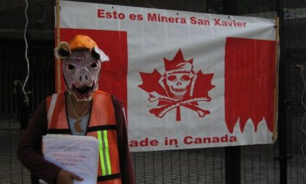 Abusos mineros de Canadá en México