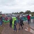 Cortes de ruta: Fuera la fábrica de insumos explosivos y salven el rìo Juramento
