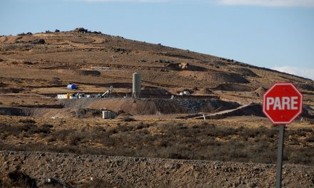 A partir de marzo Goldcorp transportará cianuro hacia Cerro Negro
