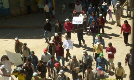 Absuelven a dirigentes comunales perseguidos judicialmente por minera Pampamali